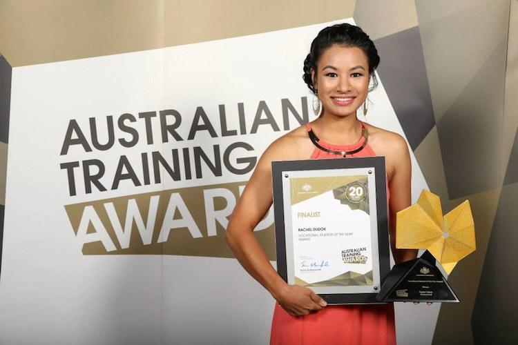 Rachel Dudok Australian Training Awards copy