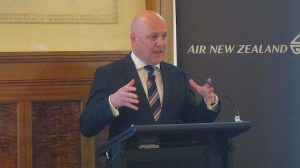 Air NZ CEO Christopher Luxon says the 787 is the best aircraft in the world.