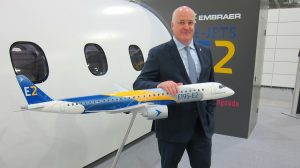 Embraer vice president of Asia-Pacfic Mark Dunnachie. (Jordan Chong)
