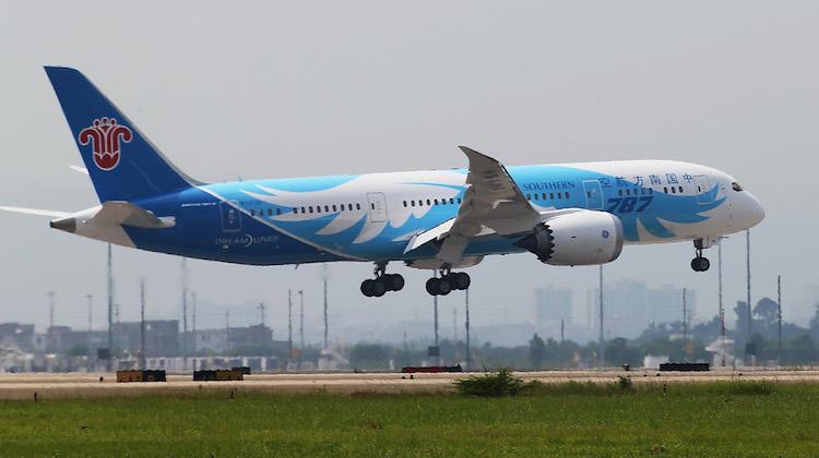 A China Southern Boeing 787-8. (China Southern)
