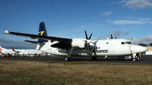 An Alliance Fokker 50. (Rob Finlayson)