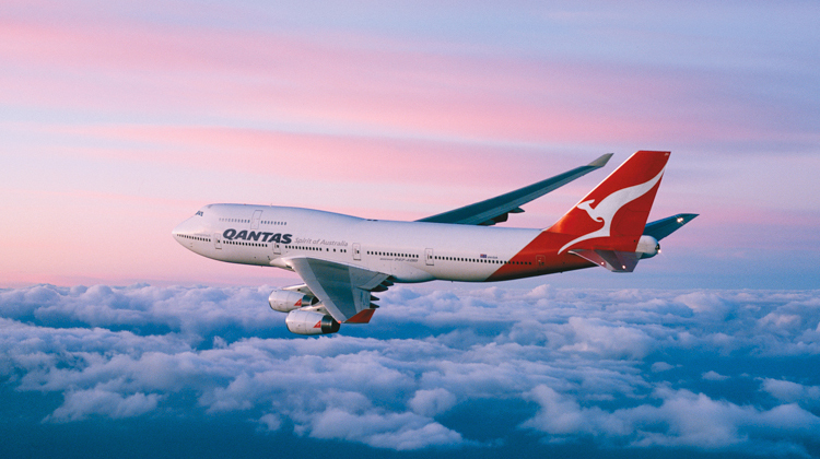 Qantas operated Boeing 747-400 to Vancouver in January. (Qantas)