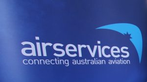 Airservices logo.