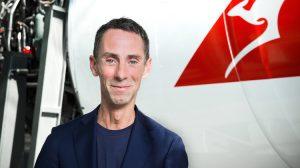 Designer Martin Grant. (Qantas)