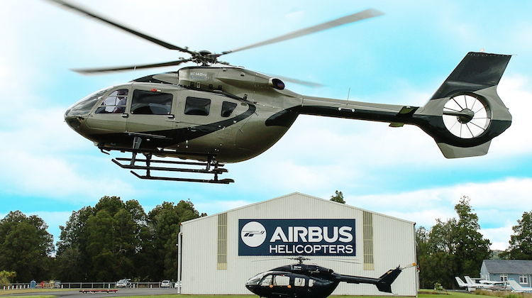 New Zealand's first H145 helicopter. (Airbus Helicopters)