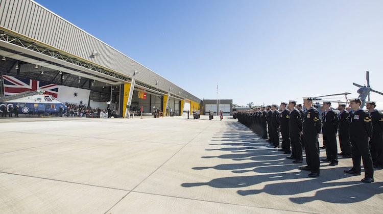 725 Squadron Commissioning