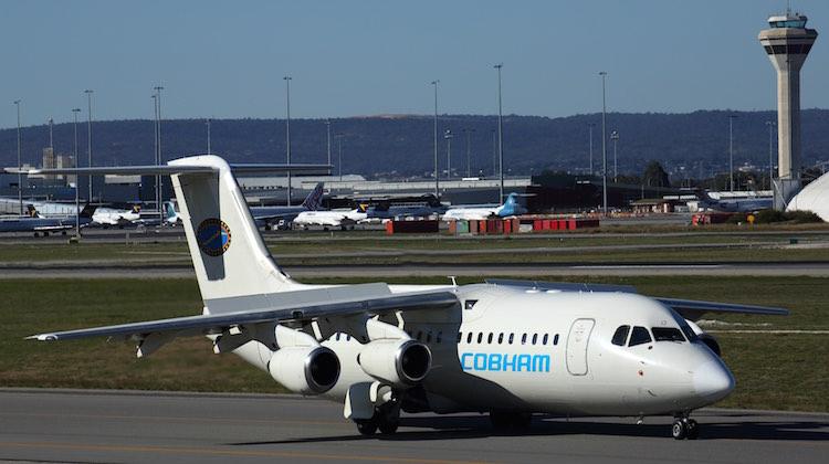 BAE 146 300 COBHAM PER APR15 RF 5K5A0336