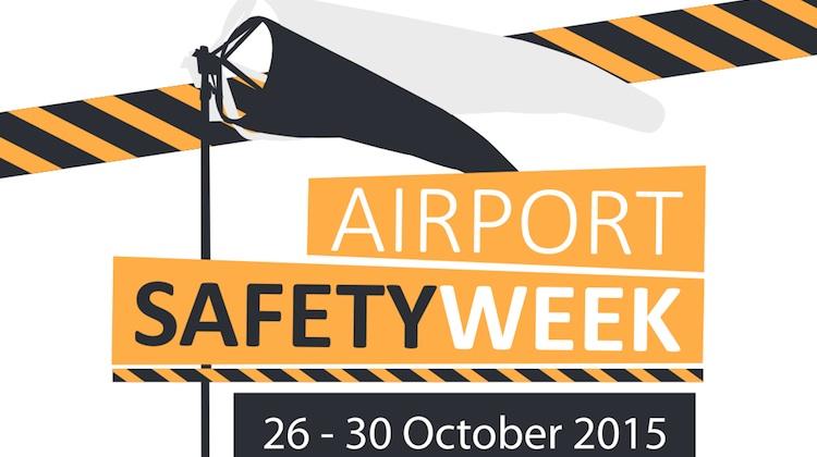Airport Safety Week 2015 logo.
