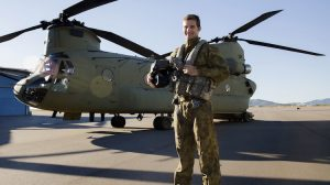 Australian Army Chinook helicopter commissioning