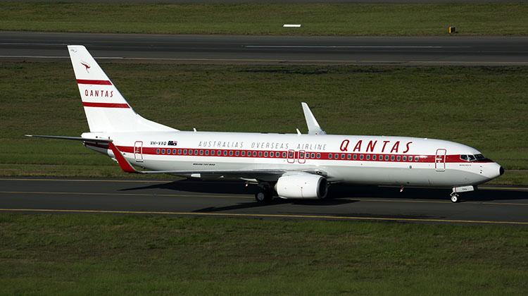 QANTAS BOEING 737 800 SYD RF 5K5A9992