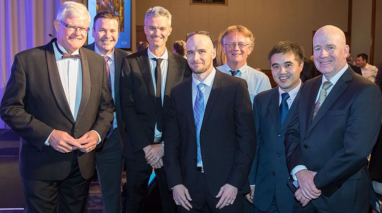 Australian Aviation was well represented at the annual awards presentation dinner. (James Morgan)