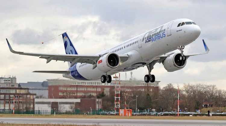A file image of an Airbus A321neo. (Airbus)