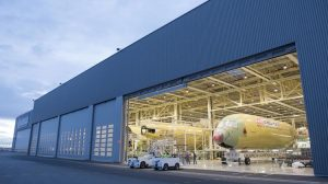 Airbus has added three stations final assembly stations at its Toulouse facility for the A350. (Airbus)
