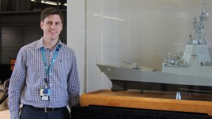 Australian Industry and Defence Network (AIDN) national young achiever of the year recipient Brodie Ryan. (Raytheon)