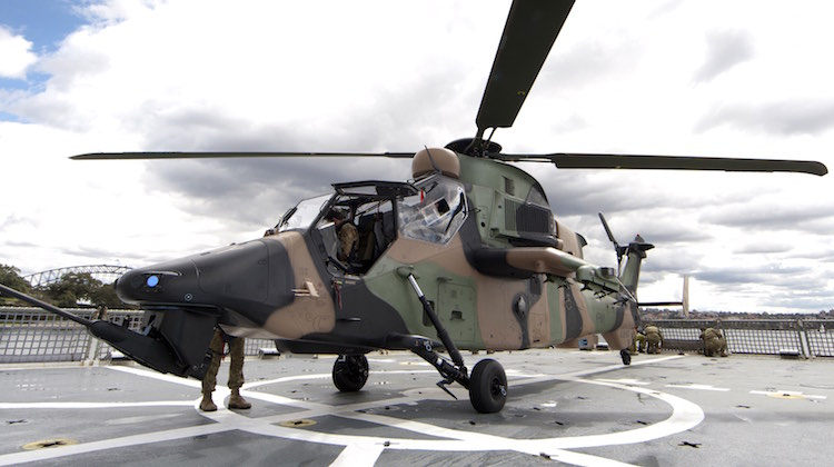 tiger armed reconnaissance helicopter with Tiger Flight Trials From Lhd  Hibious Assault Ships Planned For Q1 2017 on Australian Army Eurocopter Arh Tiger furthermore Laser Guided Rocket Hits The Mark For Australian Defence Force 63841 besides Australian Helicopter Needs Discussed Avalon Show moreover Tiger Armys Armed Reconnaissance Helicopter likewise Arh Tiger Helicopter.