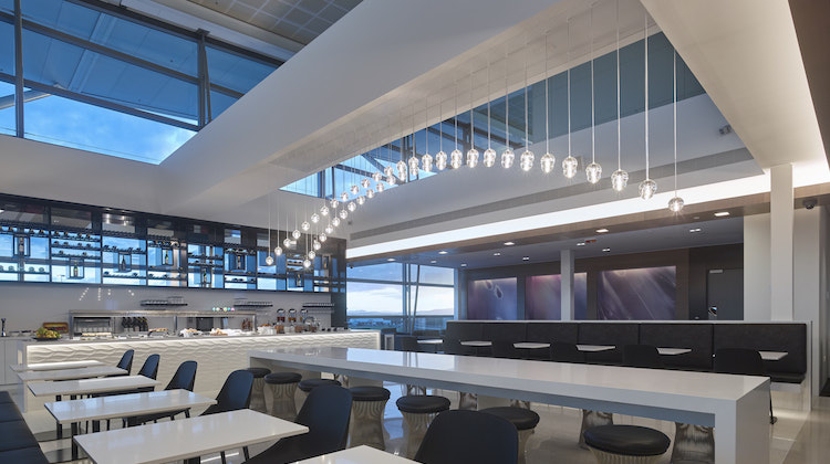 A supplied image of the new Air New Zealand Brisbane international lounge. (Air NZ)