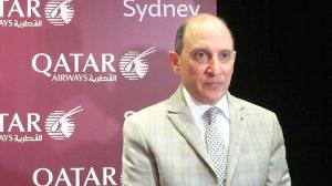 Qatar Airways chief executive Akbar Al Baker in Sydney. (Jordan Chong