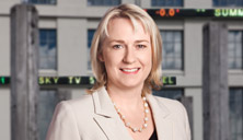 A file picture of Dame Therese Walsh. (NZX)