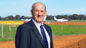 Cowra Shire Council Mayor Bill West. (Cowra Shire Council)
