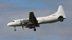 Convair CV-580 VH-PDW, operated by Pionair on behalf of Virgin Australia. (Gordon Reid)