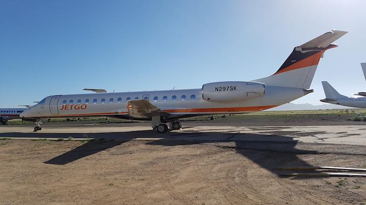 Jetgo will soon add Embraer ERJ-140LRs to its fleet. (Jetgo)