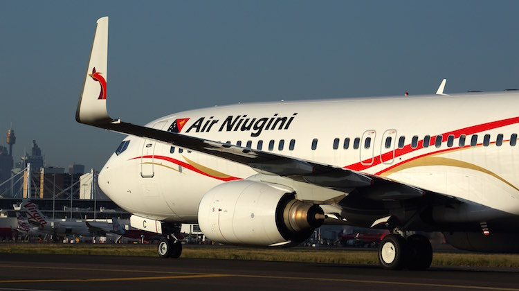 Air Niugini serves Sydney with Boeing 737-800s. (Rob Finlayson)