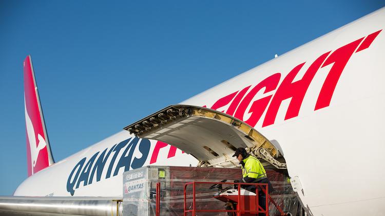 A supplied image of Qantas Freight Boeing 767-300F. (Qantas)