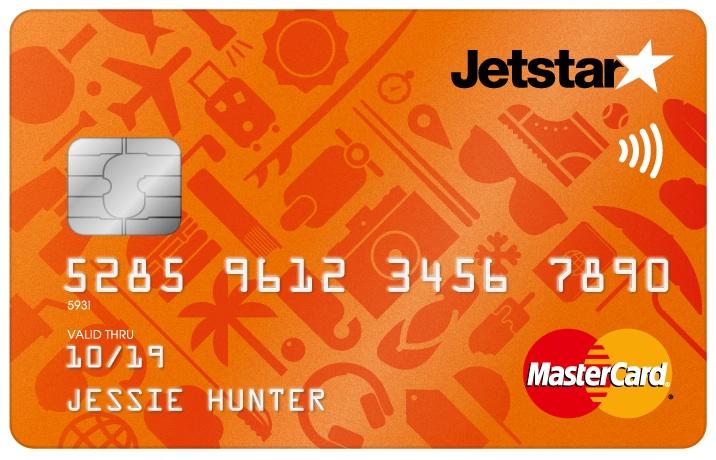 Jetstar Mastercard. (Jetstar)
