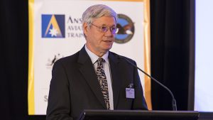 Regional Aviation Association of Australia (RAAA) chairman Jim Davis. (Seth Jaworski)