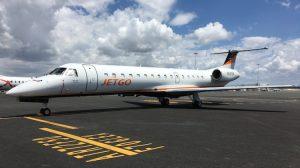 Jetgo Embraer ERJ140LR at Brisbane Airport (Jetgo)