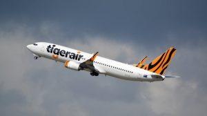 A file image of a Tigerair Australia Boeing 737-800 VH-VUB at Melbourne Airport. (Brian Wilkes)
