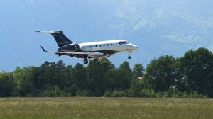 A file image of an Embraer Executive Jets Legacy 450. (Embraer)