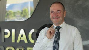 Piaggio Aerospace chief executive Renato Vaghi. (Piaggio)