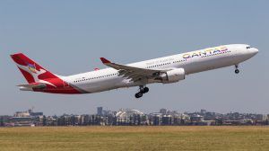 Qantas is the official airline sponsor of the Sydney Mardi Gras (Kurt Ams)