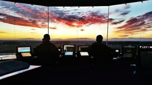 A file image from the tower at Christchurch Airport. (Airways New Zealand)