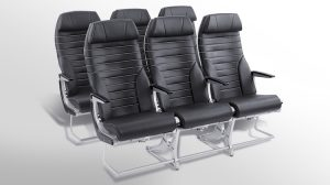 Air New Zealand's new seat for its all-economy Airbus A320neo and A321neo. (Air New Zealand)