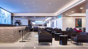Air New Zealand's refurbished Melbourne Tullamarine lounge. (Air New Zealand)