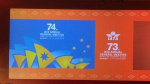 The IATA AGM is coming to Sydney in June 2018.