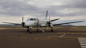 Regional Express Saab 340B VH-ZLC at Port Augusta. (Ryan Hothersall)