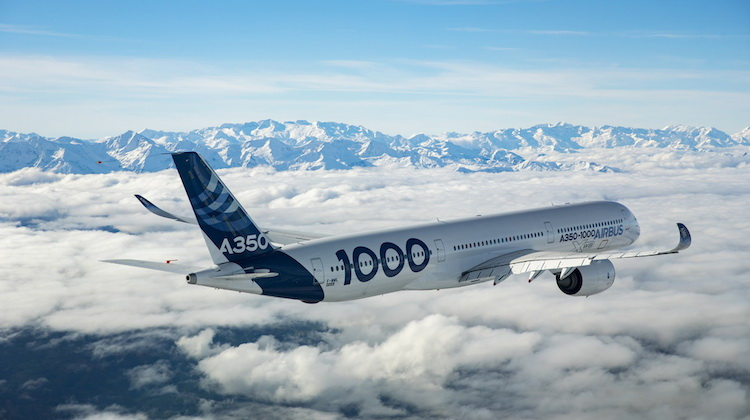 Airbus Receives A350-1000 Type Certificate
