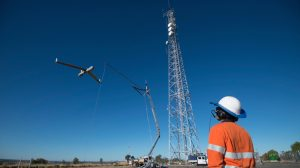 QGC is using RPAS from Insitu Pacific to inspect its coal seam gas operations.(Insitu Pacific)