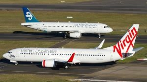Trans-Tasman partners Air New Zealand and Virgin Australia. (Seth Jaworski)