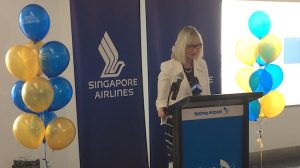 Sydney Airport chief executive Kerrie Mather.