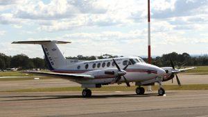 An RFDS King Air. (Paul Sadler)