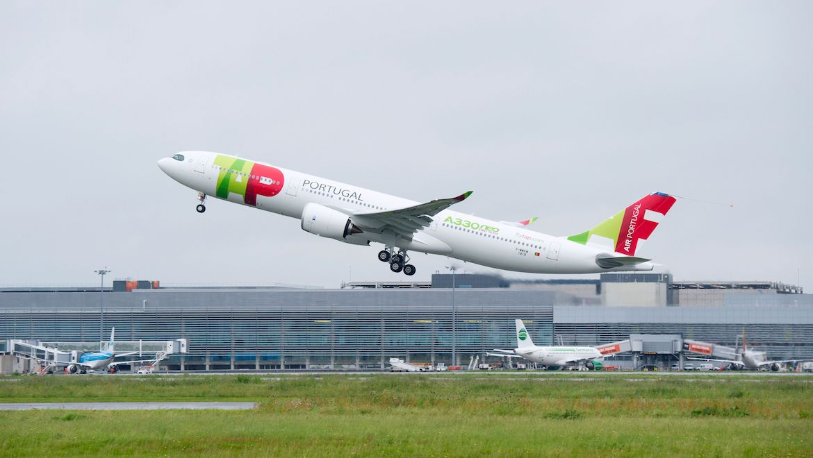 A file image of Airbus A330-900 MSN1819. (Airbus)