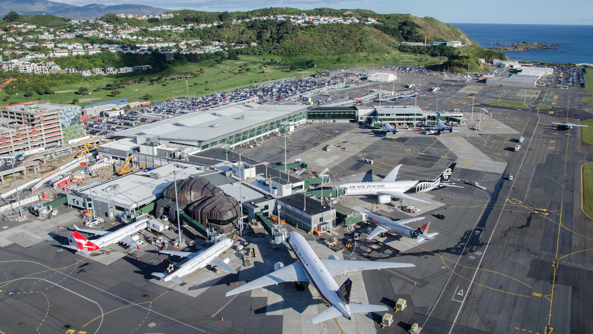 An aerial view of Wellington Airport. (Wellington Airport)