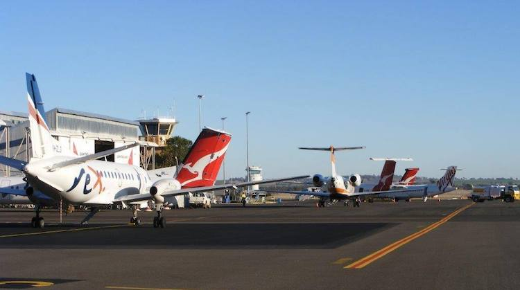A file image of Tamworth Airport. (Tamworth Regional Airport)
