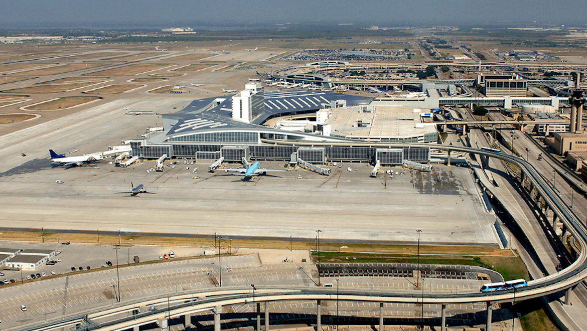 In 2014, Dallas/Fort-Worth Airport handled about 64 million passengers. (DFW Airport)