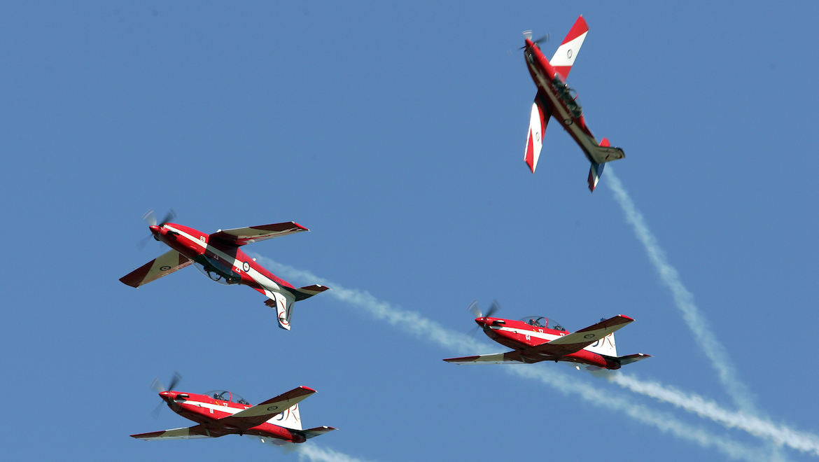 Roulettes performing.