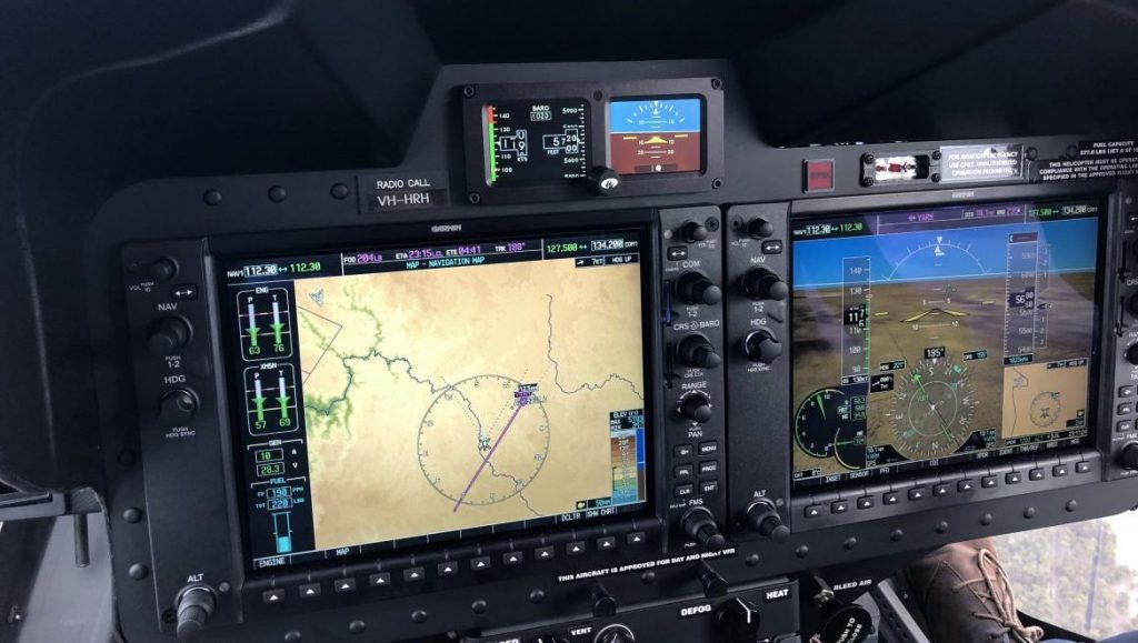 The G1000H is a big advance on the panel found in the B206. (Mick Cullen)